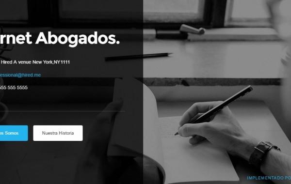 Diseño Página Emprendedor