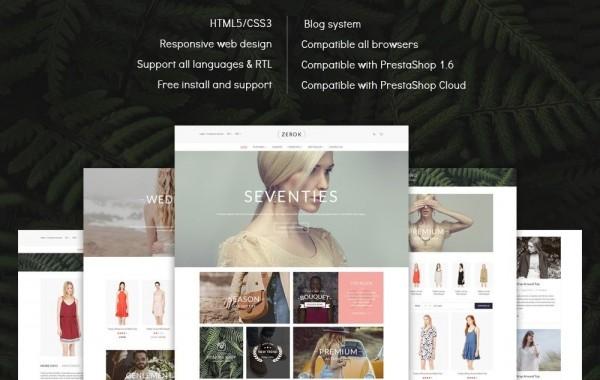 Zerok – Fashion Store PrestaShop