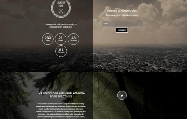 Diseño landing page 3