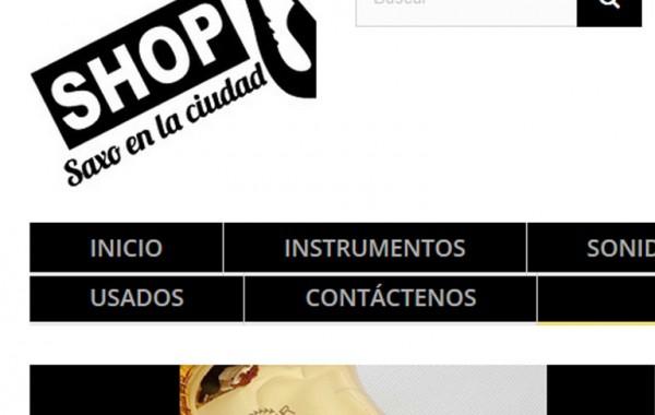 SHOP SAXO EN LA CIUDAD